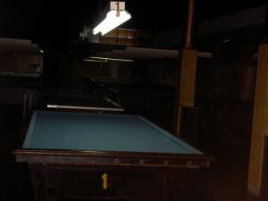 Uma das mesas em La Academia, Avenida Callao