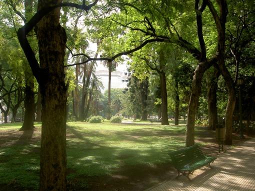 Trecho dos Bosques de Palermo